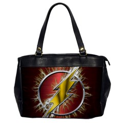 Flash Flashy Logo Office Handbags