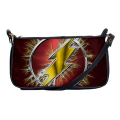 Flash Flashy Logo Shoulder Clutch Bags