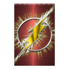 Flash Flashy Logo Shower Curtain 48  x 72  (Small)