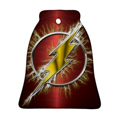 Flash Flashy Logo Bell Ornament (Two Sides)