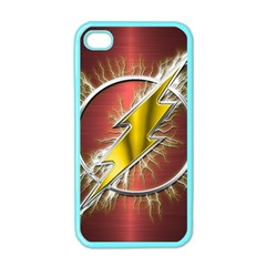 Flash Flashy Logo Apple iPhone 4 Case (Color)