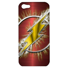 Flash Flashy Logo Apple iPhone 5 Hardshell Case