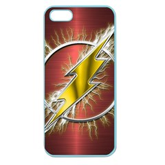 Flash Flashy Logo Apple Seamless iPhone 5 Case (Color)
