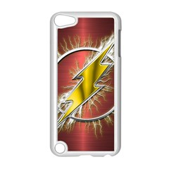 Flash Flashy Logo Apple iPod Touch 5 Case (White)