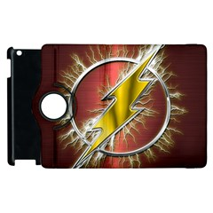 Flash Flashy Logo Apple iPad 3/4 Flip 360 Case