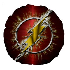 Flash Flashy Logo Large 18  Premium Round Cushions