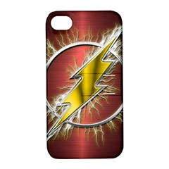 Flash Flashy Logo Apple iPhone 4/4S Hardshell Case with Stand