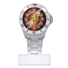 Flash Flashy Logo Plastic Nurses Watch