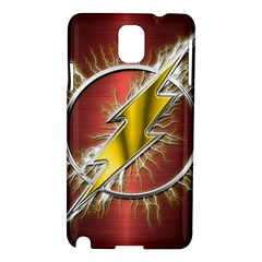 Flash Flashy Logo Samsung Galaxy Note 3 N9005 Hardshell Case