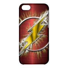 Flash Flashy Logo Apple iPhone 5C Hardshell Case