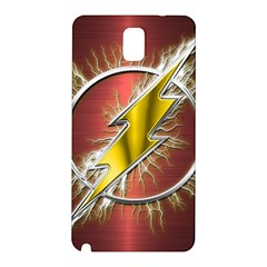 Flash Flashy Logo Samsung Galaxy Note 3 N9005 Hardshell Back Case