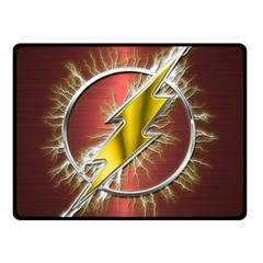 Flash Flashy Logo Double Sided Fleece Blanket (Small)