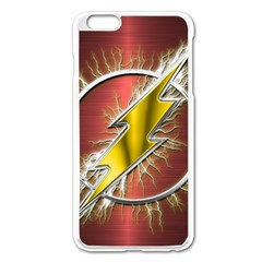 Flash Flashy Logo Apple iPhone 6 Plus/6S Plus Enamel White Case