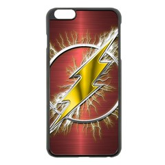 Flash Flashy Logo Apple iPhone 6 Plus/6S Plus Black Enamel Case