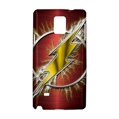 Flash Flashy Logo Samsung Galaxy Note 4 Hardshell Case
