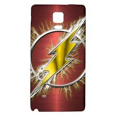 Flash Flashy Logo Galaxy Note 4 Back Case