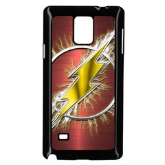 Flash Flashy Logo Samsung Galaxy Note 4 Case (Black)