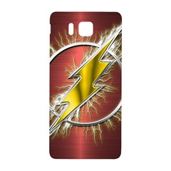 Flash Flashy Logo Samsung Galaxy Alpha Hardshell Back Case