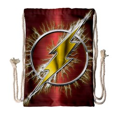 Flash Flashy Logo Drawstring Bag (Large)