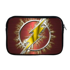 Flash Flashy Logo Apple MacBook Pro 17  Zipper Case