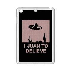 I Juan To Believe Ugly Holiday Christmas Black Background iPad Mini 2 Enamel Coated Cases