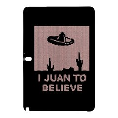 I Juan To Believe Ugly Holiday Christmas Black Background Samsung Galaxy Tab Pro 12.2 Hardshell Case