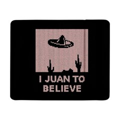 I Juan To Believe Ugly Holiday Christmas Black Background Samsung Galaxy Tab Pro 8.4  Flip Case