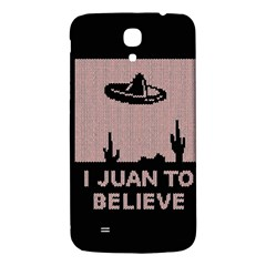 I Juan To Believe Ugly Holiday Christmas Black Background Samsung Galaxy Mega I9200 Hardshell Back Case