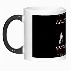 I Wasn t Good This Year, I Was Awesome! Ugly Holiday Christmas Black Background Morph Mugs