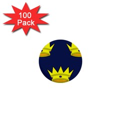 Flag of Irish Province of Munster 1  Mini Buttons (100 pack)