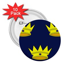 Flag of Irish Province of Munster 2.25  Buttons (10 pack)