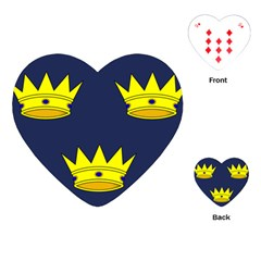Flag of Irish Province of Munster Playing Cards (Heart)