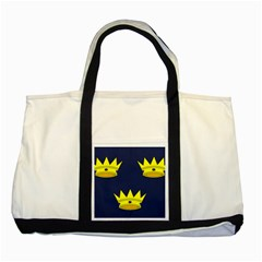 Flag of Irish Province of Munster Two Tone Tote Bag