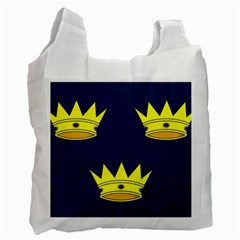 Flag of Irish Province of Munster Recycle Bag (One Side)
