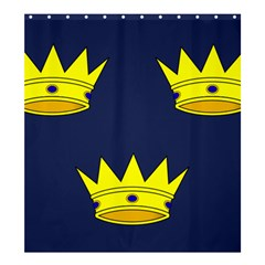 Flag of Irish Province of Munster Shower Curtain 66  x 72  (Large)