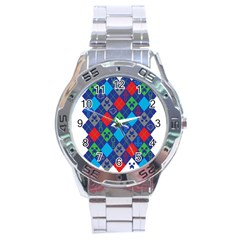Minecraft Ugly Holiday Christmas Stainless Steel Analogue Watch