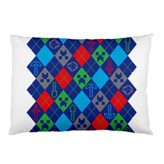 Minecraft Ugly Holiday Christmas Pillow Case (Two Sides)