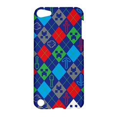 Minecraft Ugly Holiday Christmas Apple iPod Touch 5 Hardshell Case