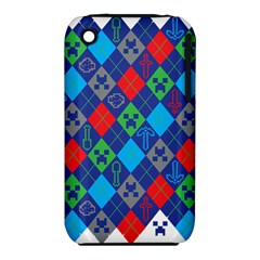 Minecraft Ugly Holiday Christmas iPhone 3S/3GS