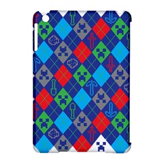 Minecraft Ugly Holiday Christmas Apple iPad Mini Hardshell Case (Compatible with Smart Cover)