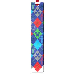Minecraft Ugly Holiday Christmas Large Book Marks