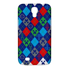 Minecraft Ugly Holiday Christmas Samsung Galaxy Mega 6.3  I9200 Hardshell Case