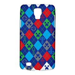 Minecraft Ugly Holiday Christmas Galaxy S4 Active