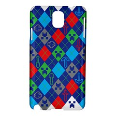 Minecraft Ugly Holiday Christmas Samsung Galaxy Note 3 N9005 Hardshell Case