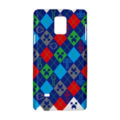 Minecraft Ugly Holiday Christmas Samsung Galaxy Note 4 Hardshell Case