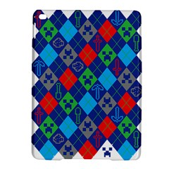 Minecraft Ugly Holiday Christmas iPad Air 2 Hardshell Cases
