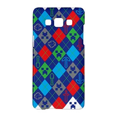 Minecraft Ugly Holiday Christmas Samsung Galaxy A5 Hardshell Case