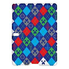 Minecraft Ugly Holiday Christmas Samsung Galaxy Tab S (10.5 ) Hardshell Case