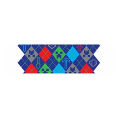 Minecraft Ugly Holiday Christmas Satin Scarf (Oblong)