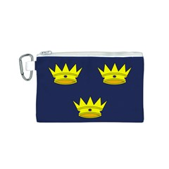 Flag of Irish Province of Munster Canvas Cosmetic Bag (S)